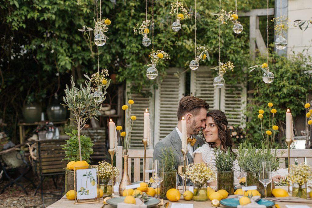 Gartenhochzeit Sommerbraut DIY Deko Ideen