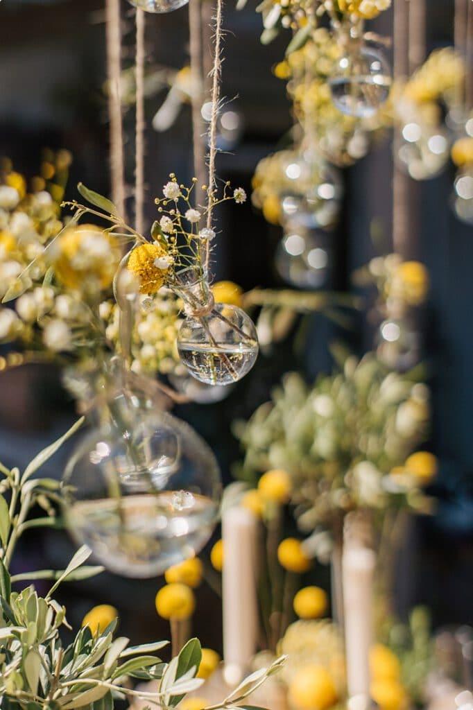 italienische gartenhochzeit gelb zitrone 4