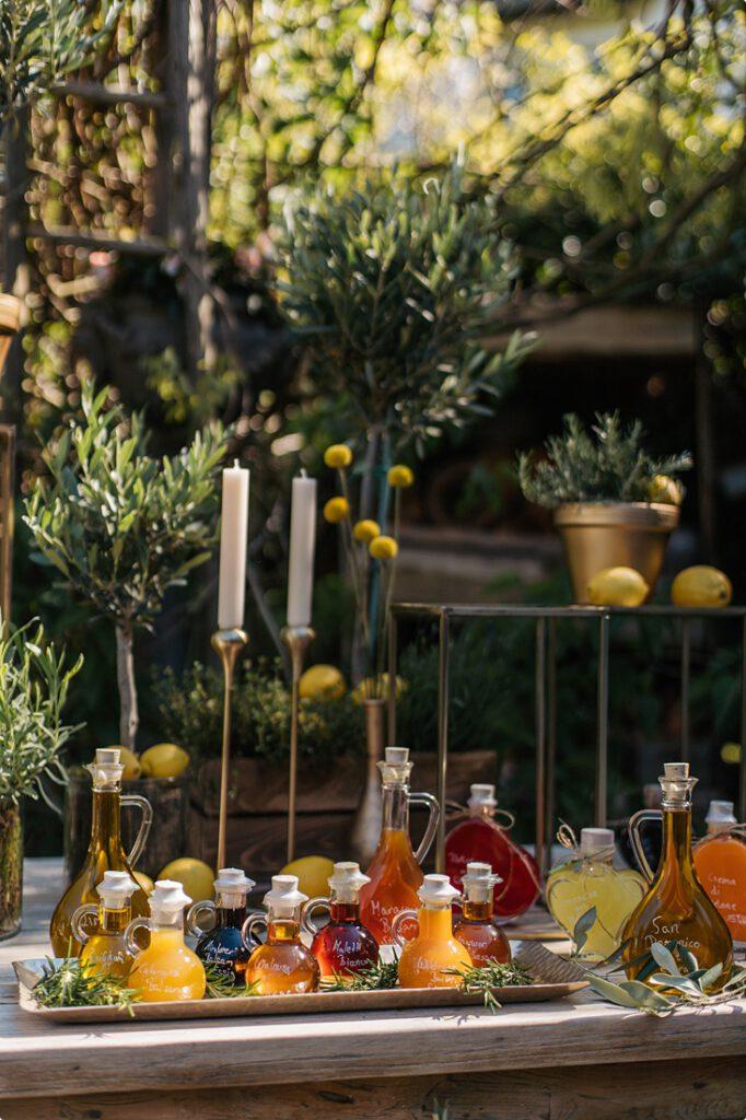 italienische gartenhochzeit gelb zitrone 43