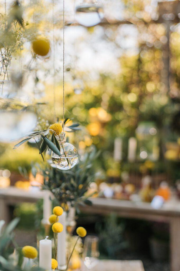 italienische gartenhochzeit gelb zitrone 56